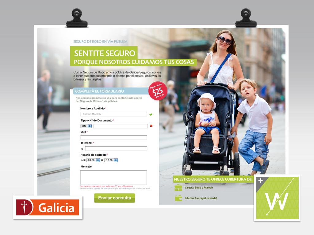 2012 - Banco Galicia - Seguros