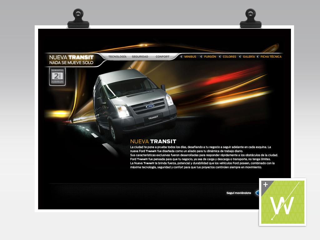 2010 - Ford Transit