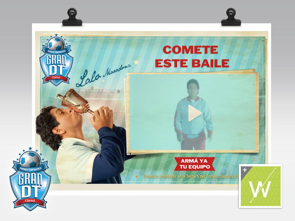 2012 - Gran DT / Lalo te baila
