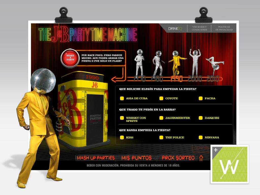 2012 - J&B / Facebook App