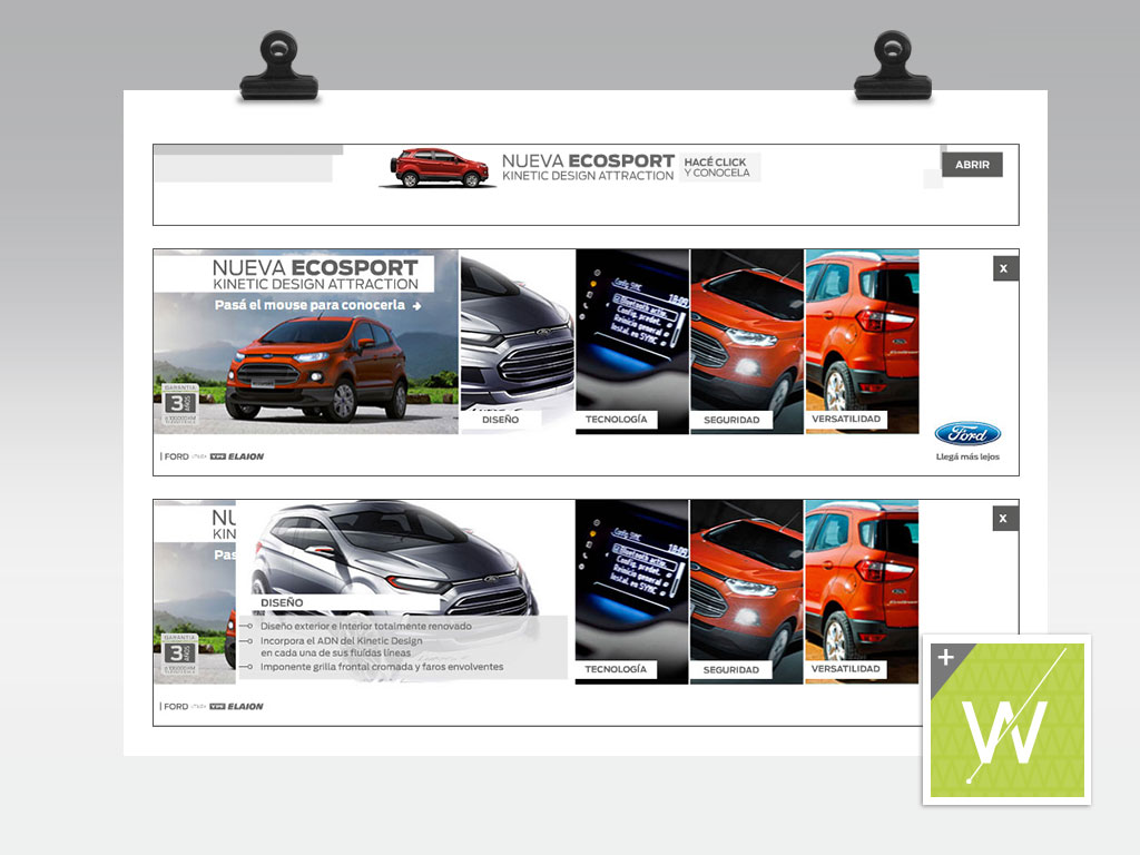 2013 - Ford Ecosport / Banners