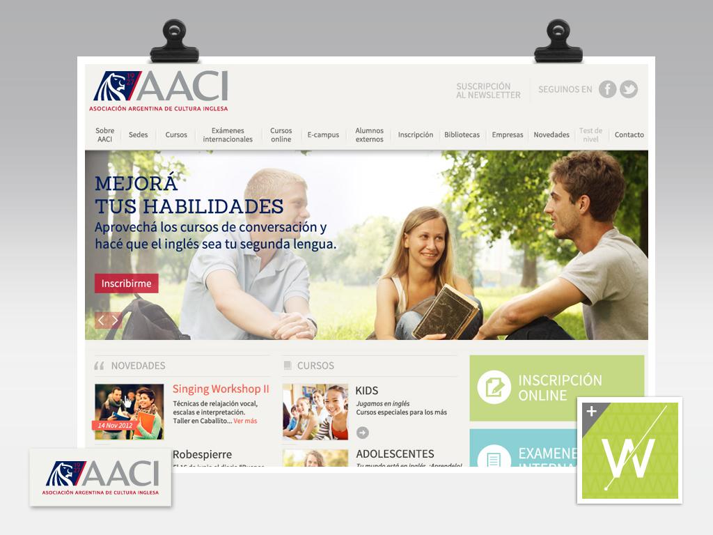 2013 - AACI - Website & e-Campus