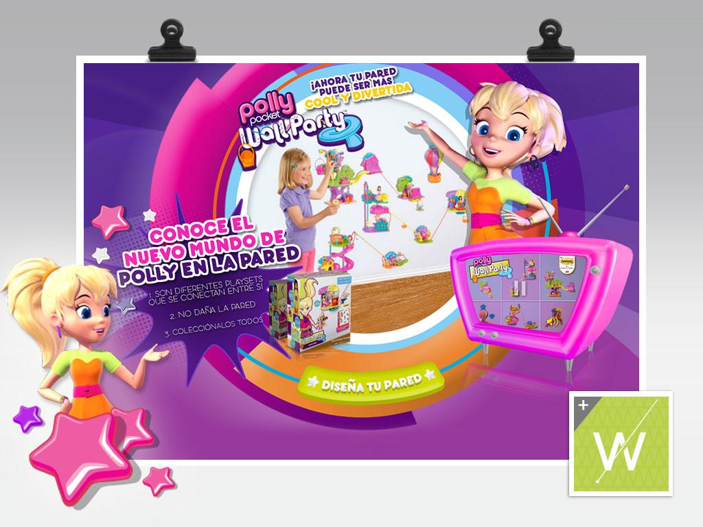 2013 - Polly Pocket Wall Party
