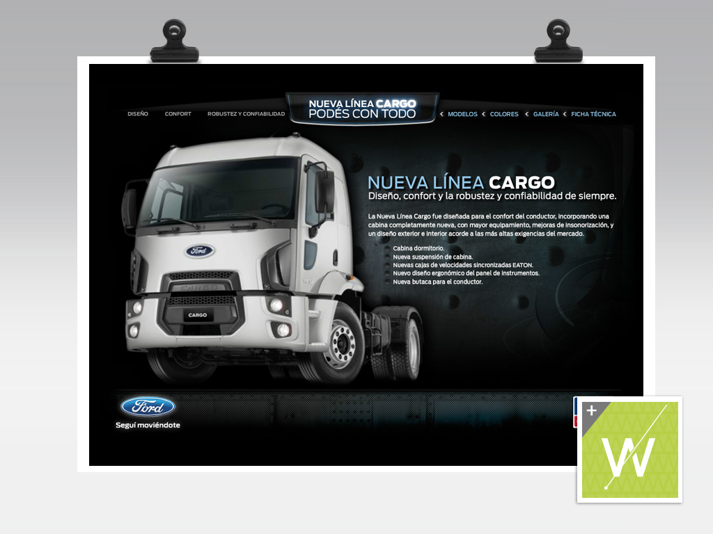 2011 - Ford Cargo