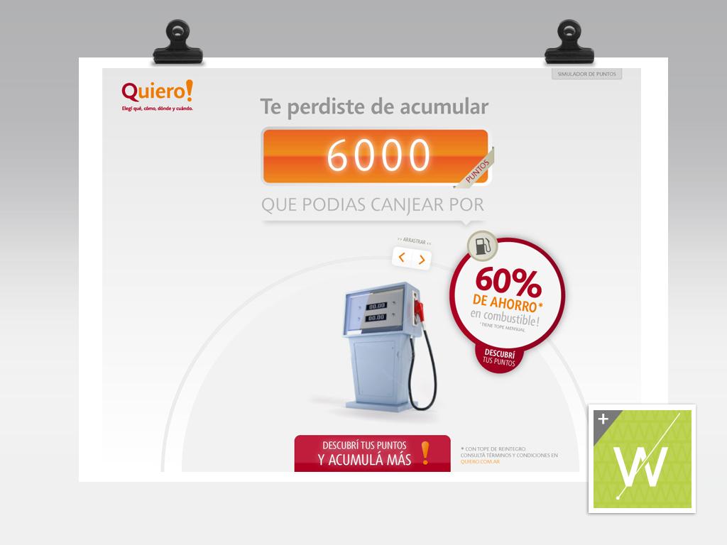 2012 - Banco Galicia - Quiero!