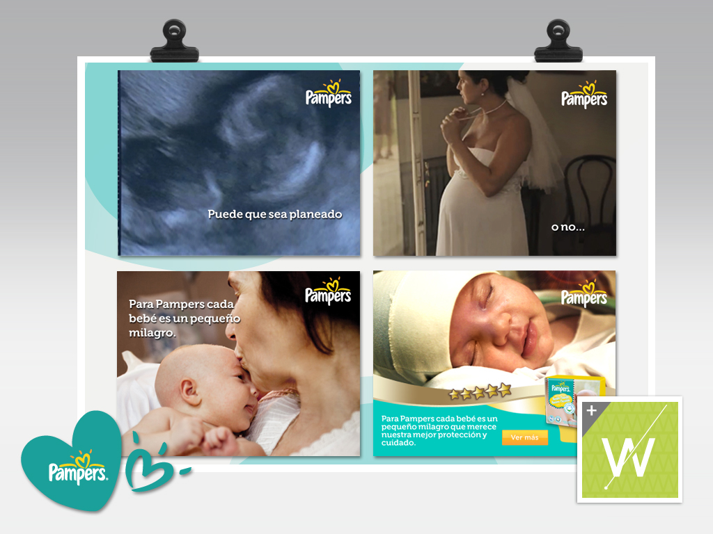 2012 - Pampers / Banners
